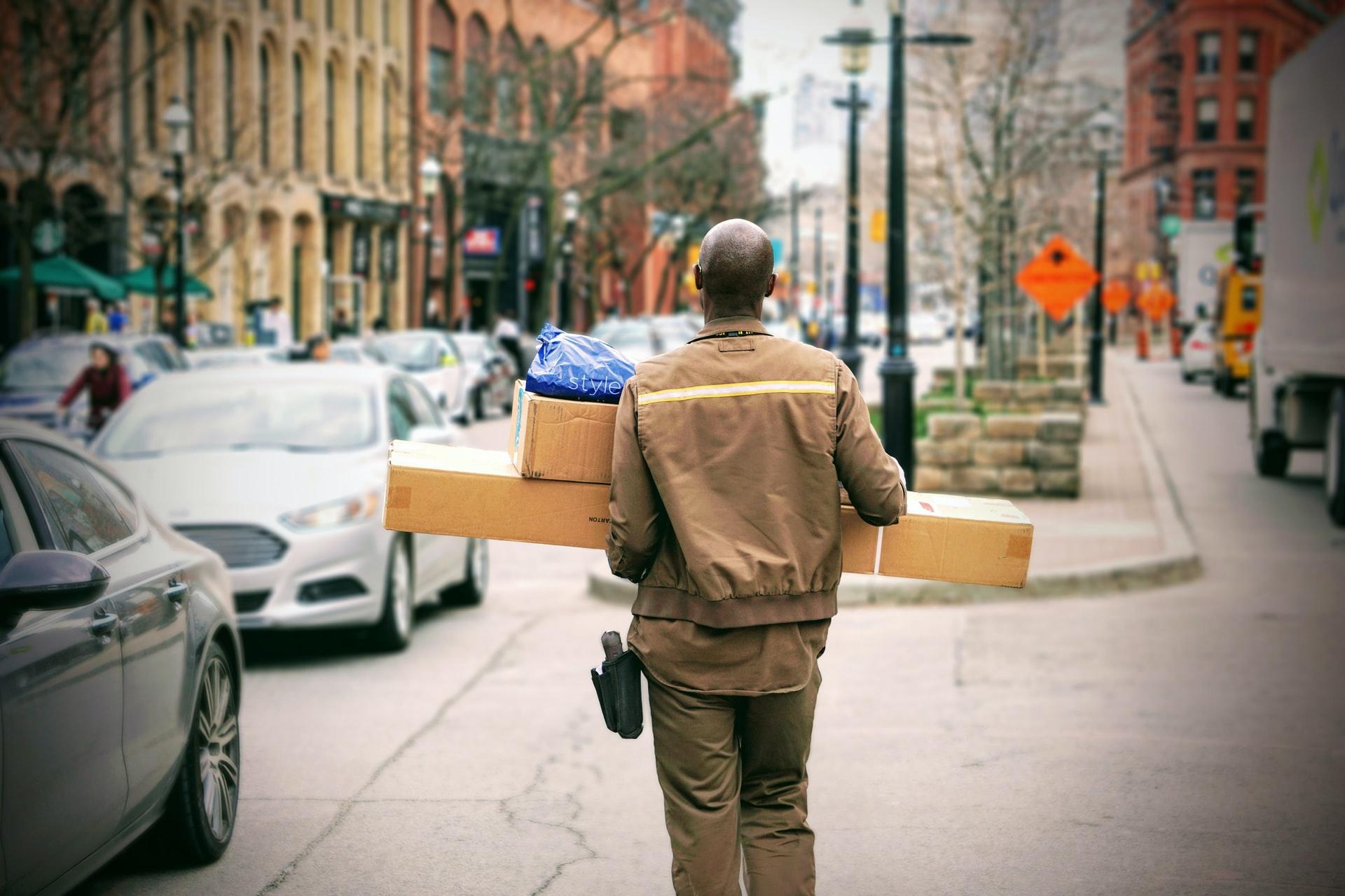 obsługa przesyłek